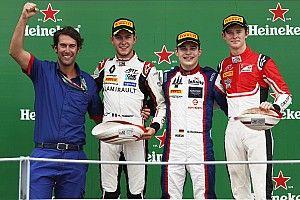Monza GP3: Beckmann dominates chaotic wet race