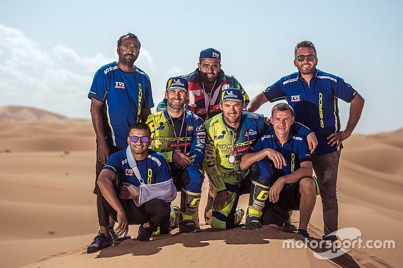 PanAfrica Rally: Sherco TVS wins for second year in a row
