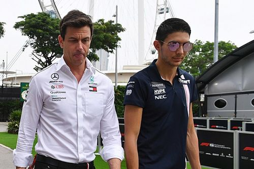 "Wolff: Futuro do Ocon está ""nas mãos da Williams"""