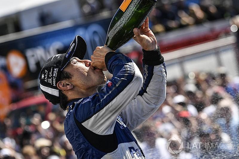 佐藤琢磨インディカー3勝目「戦略も、マシンも完璧だった!」