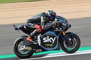 Moto2 Inggris: Bagnaia start terdepan, Oliveira ke-23