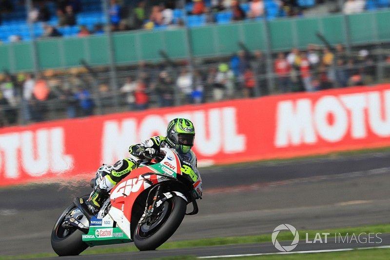 Silverstone MotoGP: Crutchlow leads Pramac pair in FP3