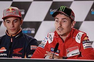 """Lorenzo: """"Creo que estoy fuerte para luchar con lluvia por la victoria"""""""