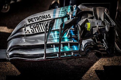 GALERÍA TÉCNICA: las últimas actualizaciones de los F1 directamente desde los garajes