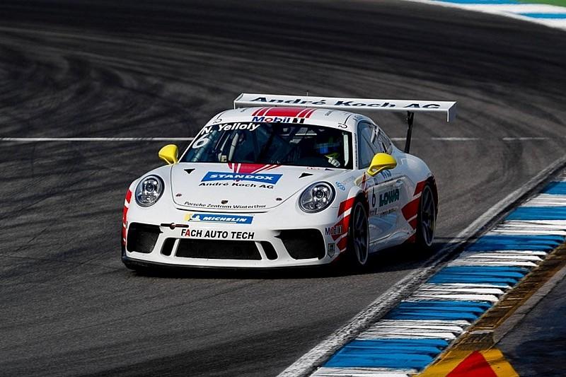 Porsche-Supercup Hockenheim: Pole-Position für Nick Yelloly