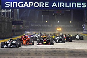 Confira os horários do GP de Singapura de F1