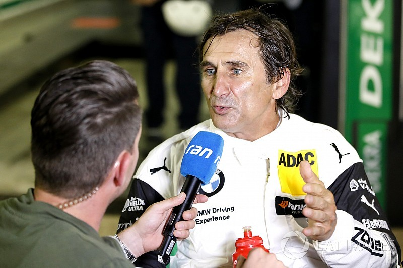 Zanardi thought fifth-place Misano finish was a joke