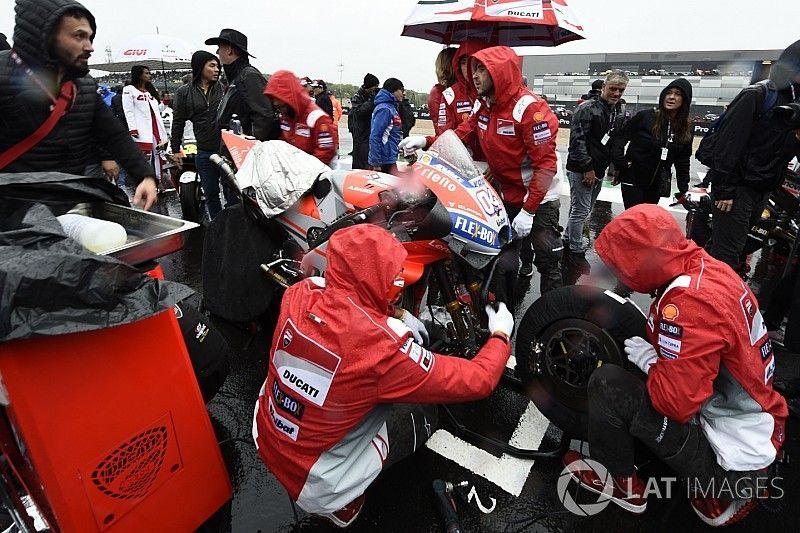 MotoGP correrá entre semana en casos como el de Silverstone