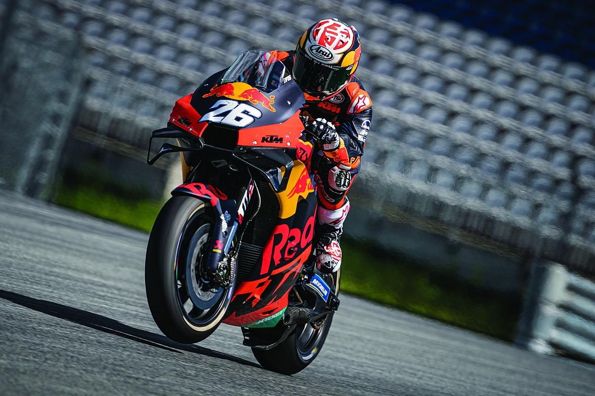 KTM rompe silêncio das motos e completa testes no Red Bull Ring