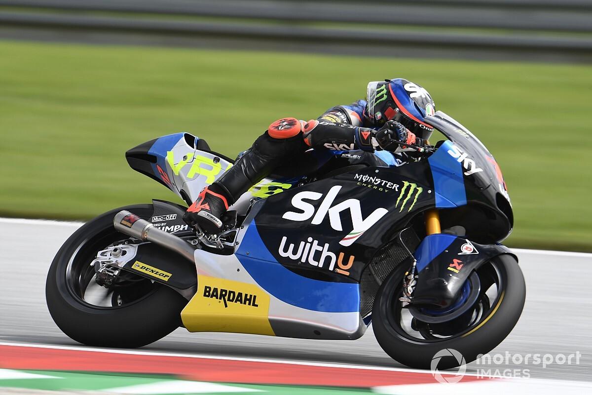 Martin bestolen van Moto2-zege, Bezzecchi wint GP Stiermarken