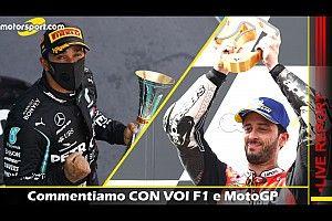 REPORT LIVE F1 e MotoGP: commentiamo CON VOI le gare