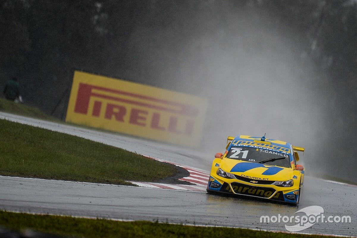 Pirelli apresenta novo pneu de chuva para Stock Car