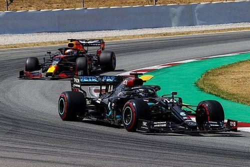 """Hamilton, """"sorprendido"""" de su aplastante victoria en España"""