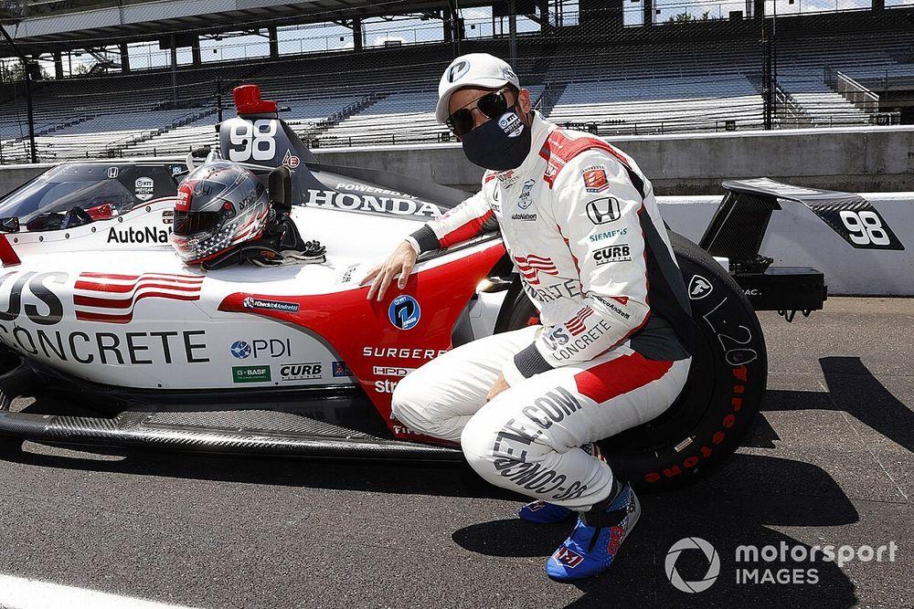 Marco Andretti took Mario's advice ahead of Indy pole-winning run