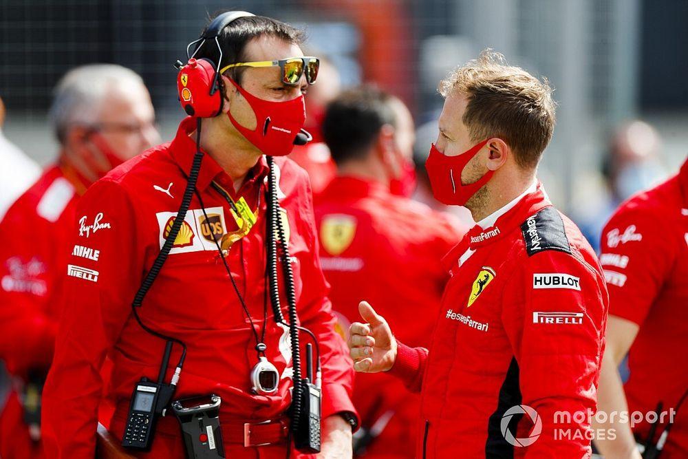 Vettel respalda a Ferrari en su método de selección de estrategias