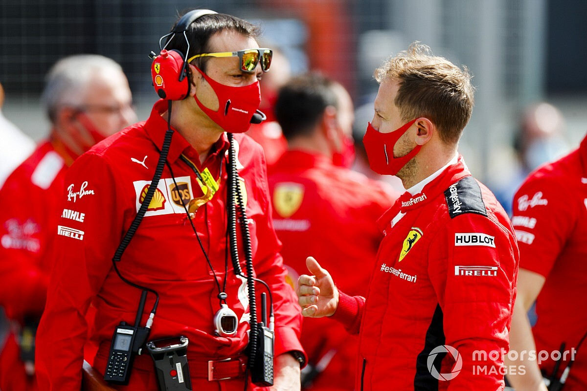 Vettel: No need for Ferrari review of strategy calls