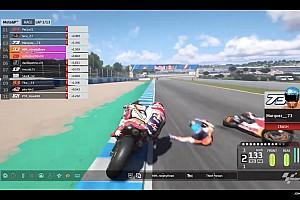 Maverick Viñales remporte le GP d'Espagne virtuel