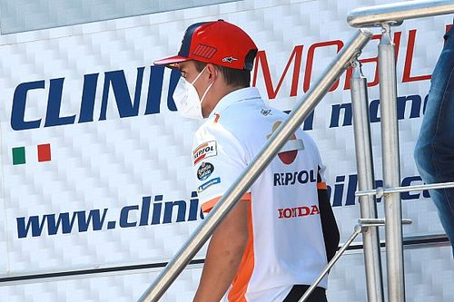 """MotoGP: Márquez diz que """"dormirá bem"""" após tentativa de retorno"""
