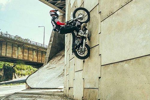 Watch This Enduro Rider Make Gravity Look Like A Joke