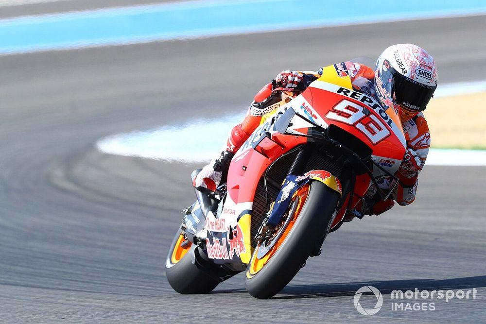 Marquez mist tweede race in Jerez, Honda roept geen vervanger op
