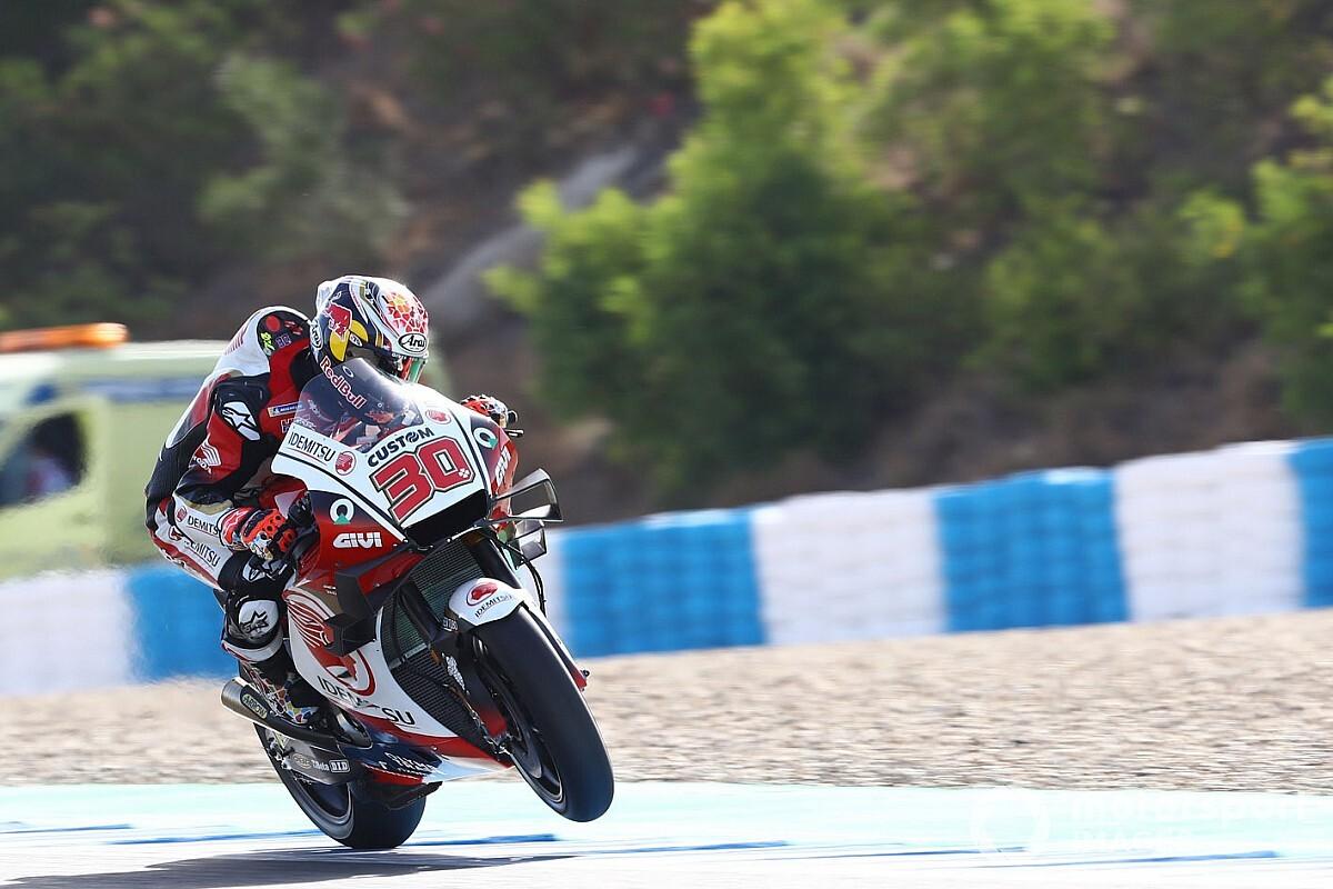 GP de Andalucía: Nakagami, el más rápido en un segundo libre de tanteo