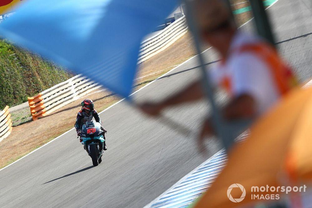 MotoGP endurece la regla de las banderas amarillas