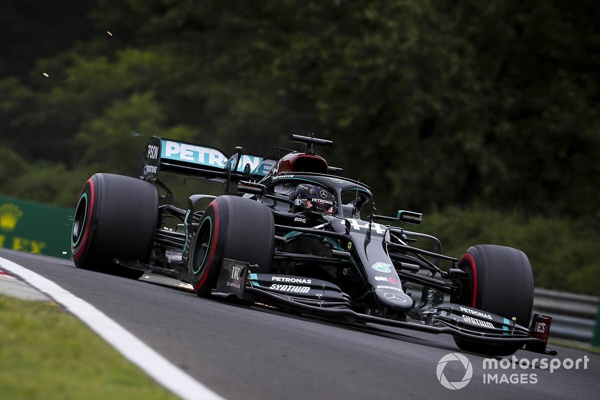 F1: Mercedes sobra na pista e Hamilton lidera TL1 do GP da Hungria