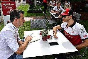 Giovinazzi myśli o Ferrari