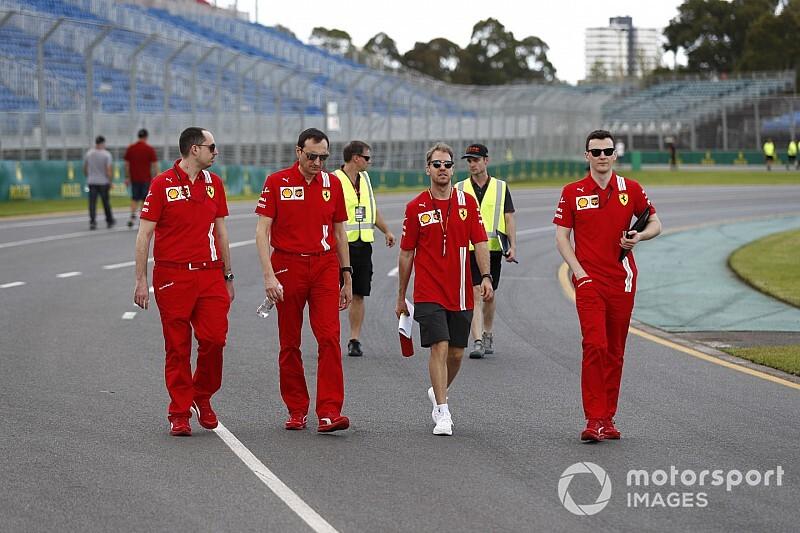 A Ferrarinál jelenleg mindenki egészséges az Ausztrál Nagydíjon