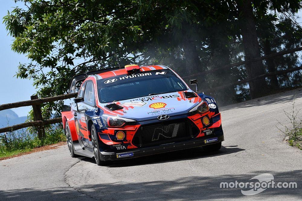 Pedersoli al Rally Alba con una Hyundai i20 WRC Plus