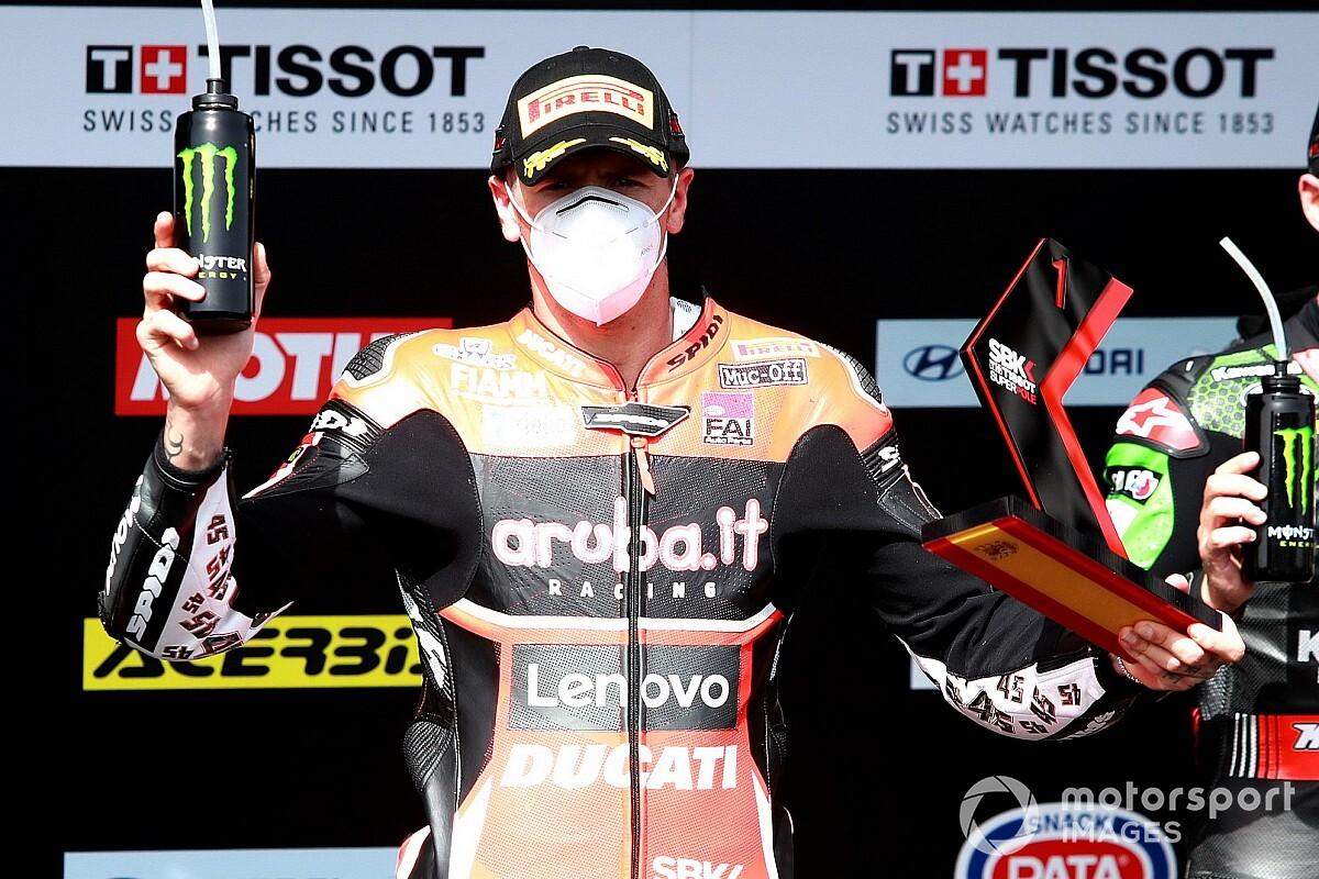 Redding vuela en Jerez y se lleva su primera pole en el WorldSBK; Bautista, 8º