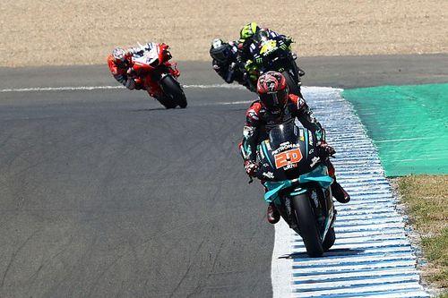 Quartararo een klasse apart tijdens GP van Andalusië, Rossi derde