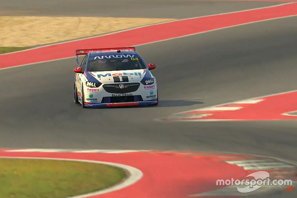 Norris to make third virtual Supercars start