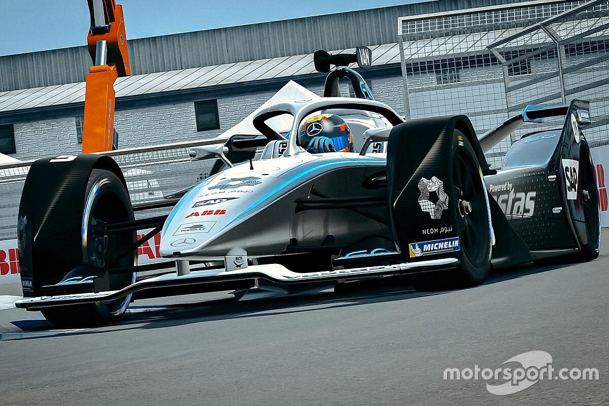 Formula E Race at Home Challenge: Wehrlein kazanarak yarınki final öncesinde büyük bir avantaj elde etti!