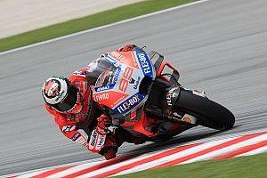 """Lorenzo: """"Deciderò domani mattina se continuare o cedere la moto a Michele Pirro"""""""