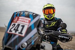 Jeremías González gana la tercera etapa del Dakar