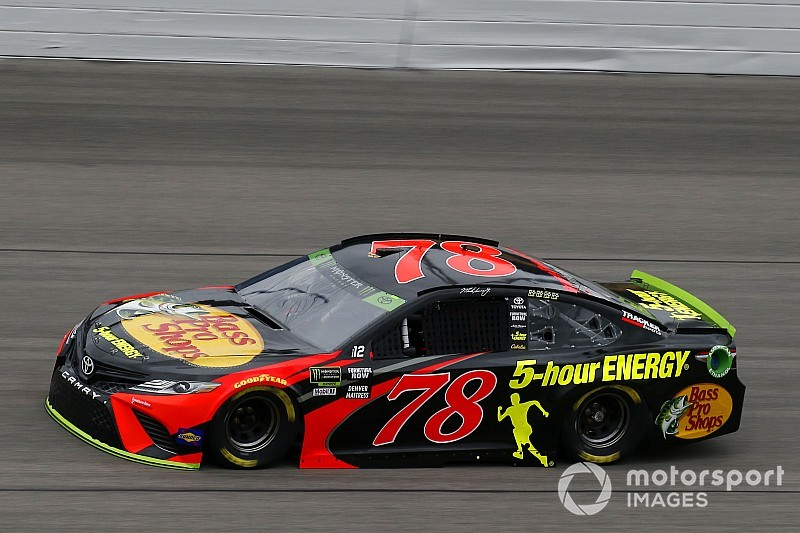 Truex 'fortunate' to still be in playoffs after Kansas