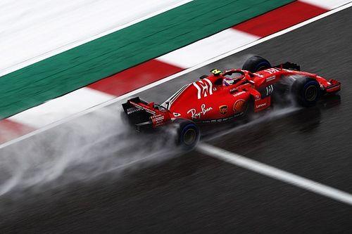 """Troppa acqua per Räikkönen: """"Domani andranno prese le decisioni migliori, oggi era impossibile capire l'auto"""""""