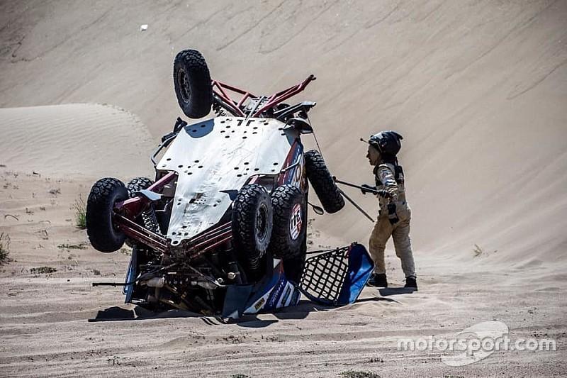 Las fotos más llamativas de la dura etapa 7 del Dakar 2019