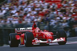 Unieke veiling in Abu Dhabi: Schumachers Ferrari onder de hamer