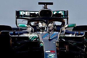 Bottas bereidt zich in Mercedes-simulator voor op 2019