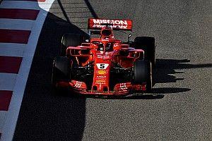 Vettel bovenaan op eerste testdag Abu Dhabi, vierde tijd Verstappen