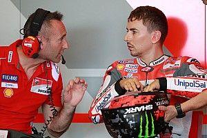 La Ducati conferma che Jorge Lorenzo non correrà in Australia
