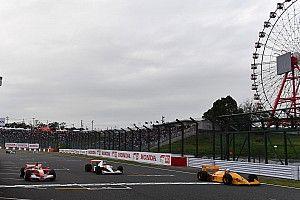 El desfile de los F1 clásicos en Suzuka