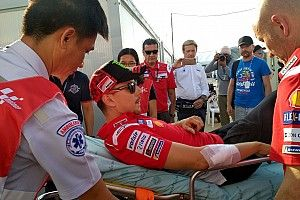 "Lorenzo likely to miss Thailand race after ""scary"" crash"