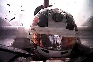 Exclusivo: halo salvou Leclerc de impacto na viseira em Spa