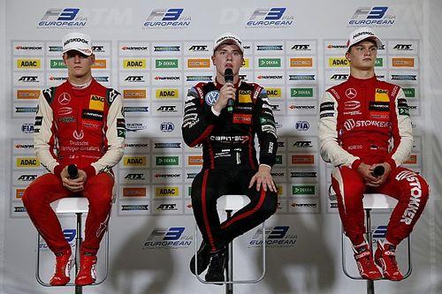 """A Vips le """"dijeron"""" que esperara un choque con Aron en la carrera de F3"""