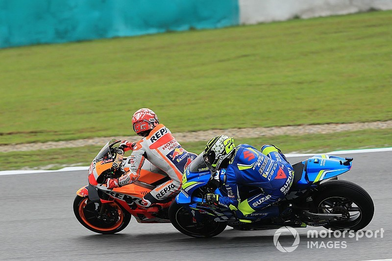 Marquez handed hefty grid penalty for blocking Iannone