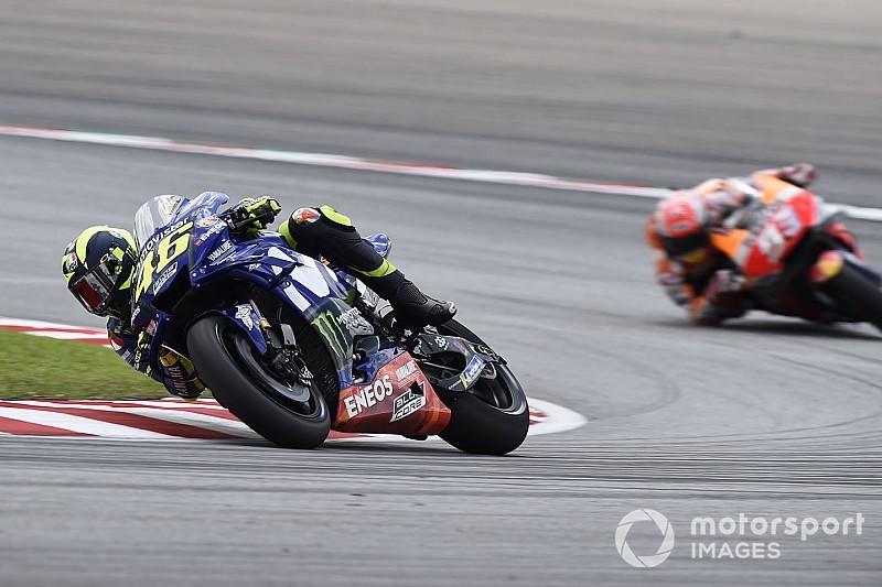 """Un """"rêve pendant 16 tours"""" mais un final frustrant pour Rossi"""