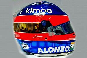 Alonso lucirá un diseño especial de casco en su última carrera en F1